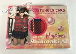 Ai Shinozaki -happiness 2009- pullover Limited Swatch official Card rare