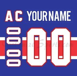 Montreal Canadiens Customized Number Kit For 2020-2021 Reverse Retro Jersey