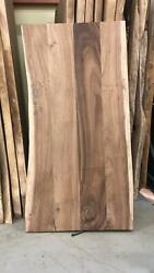 Slab Dining Table Acacia Wood Very Rare Organic L 79.5 Unfinished Top Only