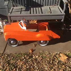 Vintage Murray Jet Flow Dump Truck Pedal Car Burns Novelty And Toy Co
