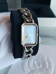 New Premiere Watch Large Version - Stainless Steel And Mother Of Pearl