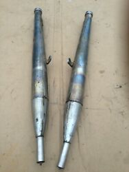 Izh Exhaust Pipe Izh Motorcycle ИЖ. Set = Pair As On Foto. Used.