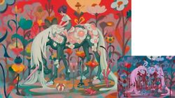 Traveler Dusk + Dawn - James Jean - Giclee Print - Limited Edition Of 1709 +500