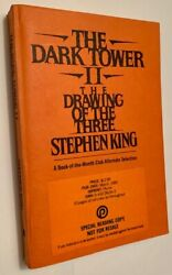 Stephen King / Dark Tower Ii The Drawing Of The Three Advance Reading Copy 1989
