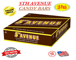 Hershey's 5th Avenue Chocolate Peanut Butter Candy Bar Pack Of 18 - On Sale
