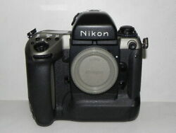 Nikon F5 50th Anniversary Model Camera Limited To 2000 In Japan Used