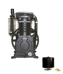 Abac/belaire/cp 10hp 2stage Cast Iron Replacement Air Compressor Pump 1312101037
