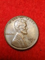 1950s San Francisco Mint Lincoln Wheat Penny 15