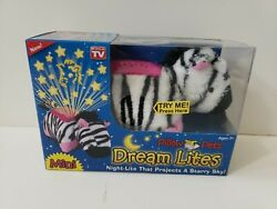 Zippity Zebra . Dream Lites. Mini. Pillow Pets. As Seen on TV. New In Box.