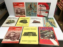 10 Vintage Lionel And American Flyers Toy Train Catalogs And Price Guides