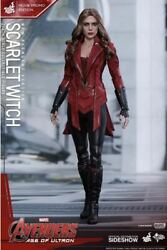 Unused Hot Toys 1/6 Scarlet Witch Avengers Edition Figure Pop Up Store Only 500