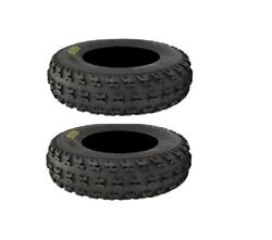 Set Of 2 Front Itp Holeshot Xc 22x7-10 Atv Tires For Bombardier Ds 650 2004-2005