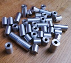 16mm Diameter M4 To M12 Stainless Steel Spacer Stand Off Bush Tube Shim Washer👍