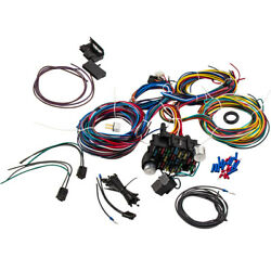 Long Universal 21 Circuit Wiring Harness For Chevy Ford Jeep New