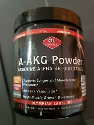 Olympic Labs A-akg Powder Arginine Alpha-ketoglutarate 60 Servings