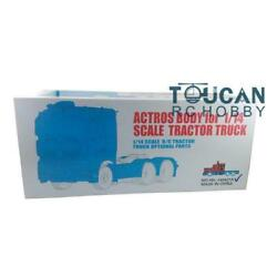 Scale 1/14 Hercules Rc Body Triaxial Low Top Tractor Truck Car Shell Model