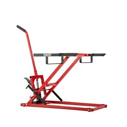 Jack Lift For Tractors Zero Turn Lawn Mowers 300lbs Capacity Non-slip Foot Pedal