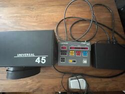 Beseler Universal 45 Enlarger Light Source W/ Color Controller And Foot Switch