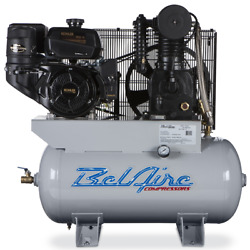 Belaire 4g3hkl 14hp 30 Gallon 2stage Gas Powered Contractor Air Compressor 23cfm