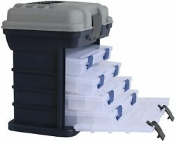 Fishing Tackle Box For Lures Storage Line Bait Hook Organizer Case Portable Tool