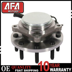 Front Wheel Hub And Bearing Assembly For 2wd 2009-2010 Dodge Ram 2500 3500 W/ Abs