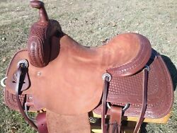 16 Johnny Scott Ranch Cutting Saddle Made In Texas Cutter