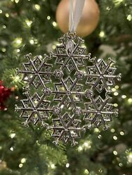 Boeing Jet Snowflake 2019 Holiday Ornament