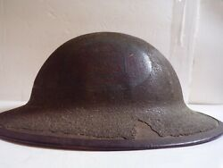 Ww1 Doughboy Helmet 30th Old Hickory Division Period Applied Painted Insignia