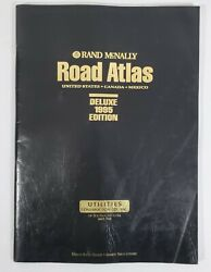 Vintage Rand Mcnally Road Atlas United States Canada Mexico Deluxe Edition 1995