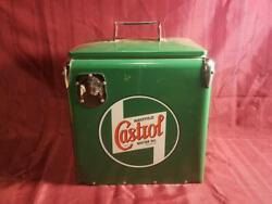 Castrol Cooler Gas Oil Ice Chest New Collectible Make An Offer
