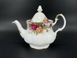 Royal Albert Old Country Rose Small 2 Cups Size Teapot Bone China England Rare