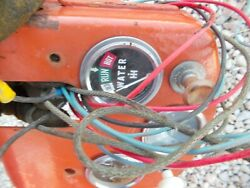 Coop E3 Tractor Original Dash Holder Panel W/ Ih Gauge And Wire Harness And Switch