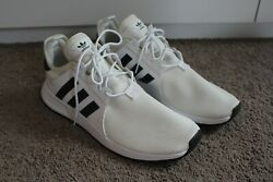 Adidas X_plr White Menand039s Size 10.5 Running Shoe Great Condition/worn Once