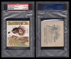 1888 N36 Allen And Ginter American Indian Chiefs Hairy Bear Psa 4 /4010