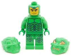 Lego Minifigure Green Goblin Spider-man Both Mask Included