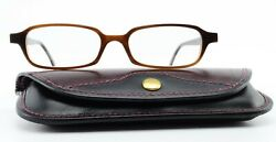 Wollenweber Glasses 0802103 2215 Horn And 2 Unique Germany + Real Leather Case