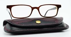 Wollenweber Glasses 0106013 3166 Horn And 3 Unique Germany + Real Leather Case