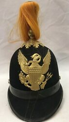 Us Military 1897 Indian War Mounted Service Signal Corps Parade Helmet M1881