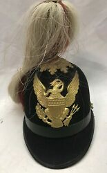 Us Military 1898 Indian War Mounted Service Cavalry Scout Parade Helmet M1881