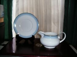 Htf Early 1970's Royal Doulton Lorraine H5033 Gravy Bowl With Liner