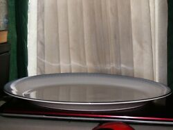 Htf Early 1970's Royal Doulton Lorraine H5033 Large 16 Oval Platter
