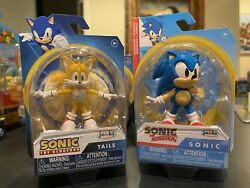 Sonic The Hedgehog Wave 3 Tails And Classic Sonic 2.5andrdquo Figures Jakks Pacific 2021