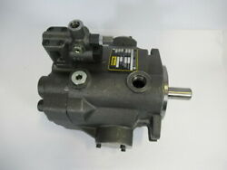 Parker Pvp3330rm21 Variable Volume Piston Pump 1-5/8in/out Cast Iron Used