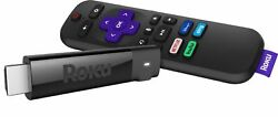 Roku Streaming Stick 4K Streaming Media Player with Voice Remote with TV C...