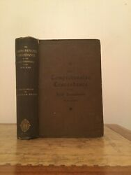 1895. The Comprehensive Concordance To The Holy Scriptures. Walker. Nelson.