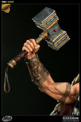 Arh Studio Exclusive Thor God Of Thunder 1/4 Scale Statue From Sideshow New