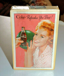 Rare Original Unopend And Sealed Coca Cola Playing Cards W Stamp  Very Nice
