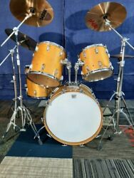 Ludwig Drums Vintage Maple 1960s/70sbuilt To Last Sounds Great.