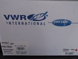 Vwr 100 X 15mm Polystyrene Petri Dish Stackable For Automation 600/cs 25384-094