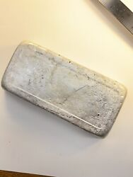 9.5 Lbs Pewter Ingot 90-94 Tin Lures Jewelry Excellent Castings